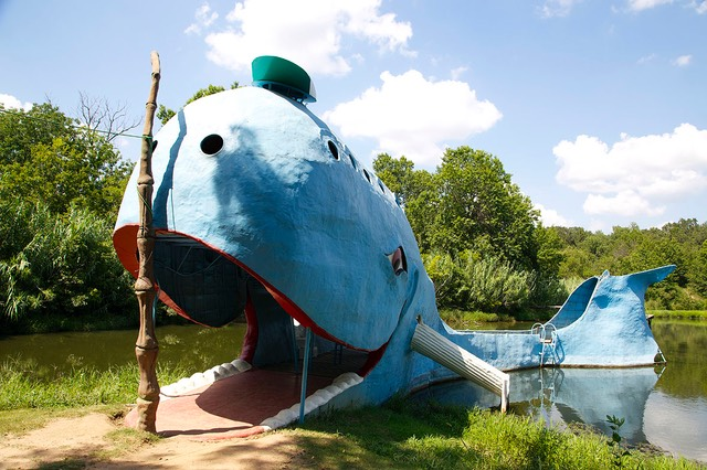 03 The Blue Whale, Catoosa, Route 66, Oklahoma