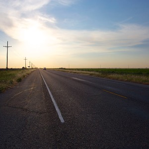 04 Sunrise on Texas State Highway 217