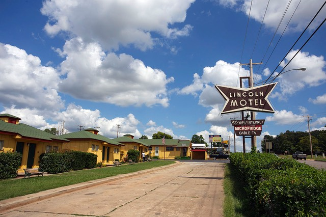 12 Lincoln Motel, Chandler, Route 66, Oklahoma