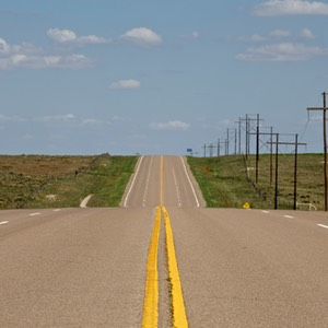 18 Empty Road, US Route 64, Oklahoma