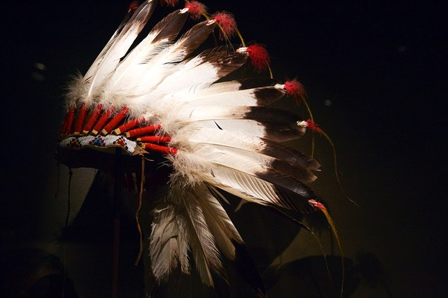 19 War bonnet, National Cowboy Museum, Oklahoma City, Off Route 66, Oklahoma