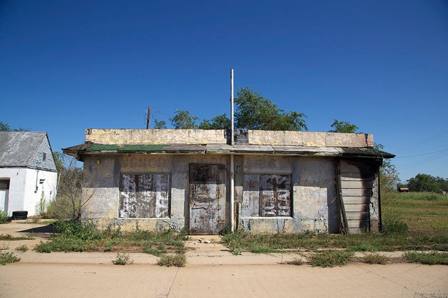 26 Boarded up Building, Texola, Route 66, Oklahoma