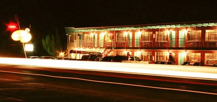 Light Trails, Apache Motel, Moab, Utah