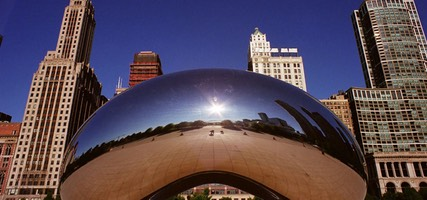 Anish Kapoor's Cloud Gate, Millennium Park, Chicago