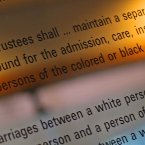 Rules of Segregation for Blind Persons of Color, Martin Luther King Jr Center
