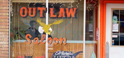 Day 2: Outlaw Saloon, Afton, Wyoming