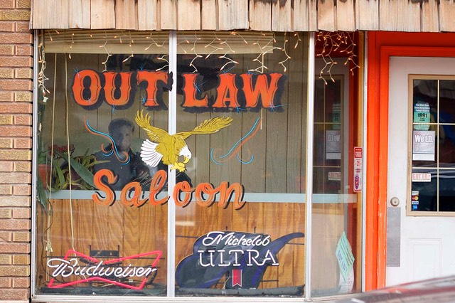 Day 2 Outlaw Saloon, Afton, Wyoming