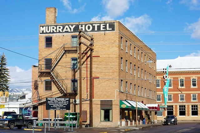 day 5 murray hotel livingston montana american road. Black Bedroom Furniture Sets. Home Design Ideas