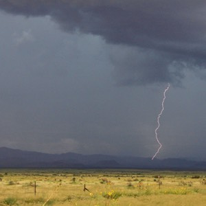 Electrical Storm, New Mexico Arizona Border