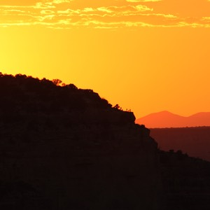 Grand Canyon Sunset, Maricopa Point viewed from near Yavapai Observation Station 1, AZ