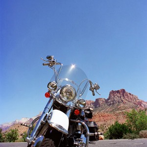 Harley Davidson at Majestic View Lodge, Springdale, UT