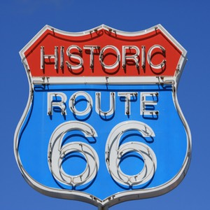 Historic Route 66, Neon Sign, Seligman, AZ