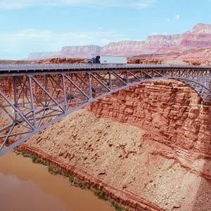 Navajo Bridge over Marble Canyon, Colorado River (Highway 89A)