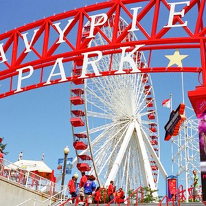 Ferris Wheel, Navy Pier Park, Chicago