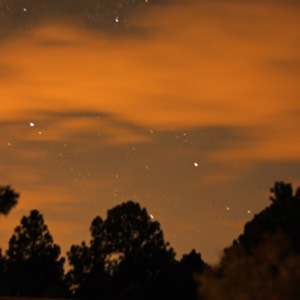 Night Sky, Pinos Altos, NM