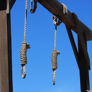 Nooses, Gallows, Tombstone, AZ