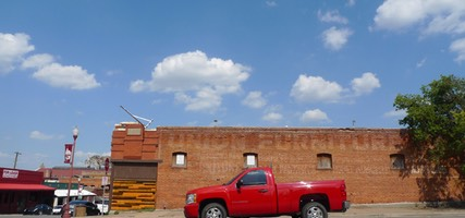 Red Truck, Stockyards, Fort Worth, TX