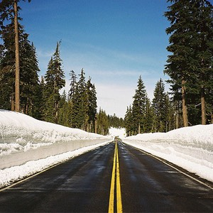 Road to Crater Lake