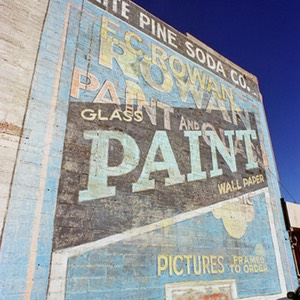 Soda, Paint and Picture Framing - Advertising in Ely Nevada