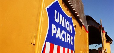 Union Pacific Badge, Cody Park Railroad Museum, North Platte
