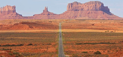 U.S. Route 163, Monument Valley
