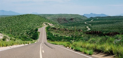 US Route 385, Big Bend National Park
