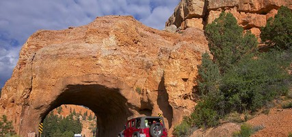 Utah Highway 12 Scenic Byway, Road Arch near Bryce
