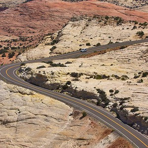 Utah Highway 12 Scenic Byway, Head of the Rocks Overlook