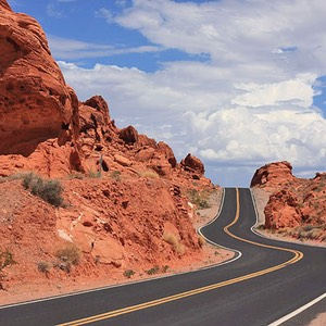 Valley of Fire State Park, Climbing S-Bend