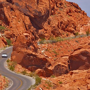 Valley of Fire State Park, Gap in the Rocks