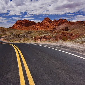 Valley of Fire State Park, Twists and Turns
