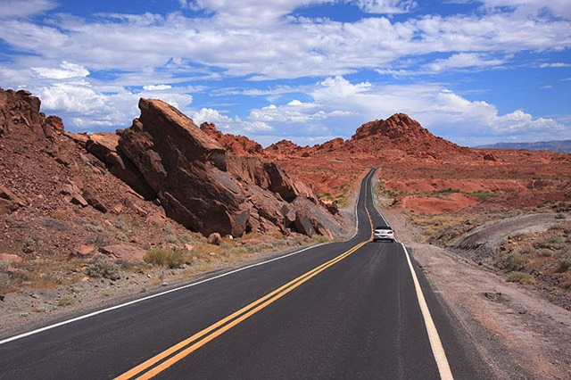 Valley of Fire State Park, Heading East