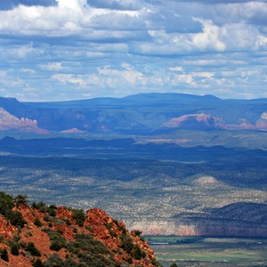 Verde Valley from Mingus Mountain, Alt 89, AZ