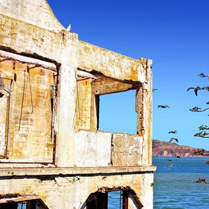 Warden's House at Alcatraz, San Francisco, California
