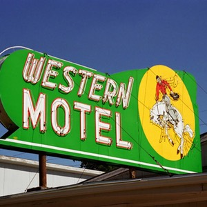 Western Motel, North Platte, Nebraska