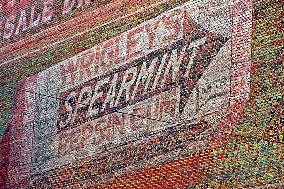 Wrigleys Spearmint Pepsin Gum