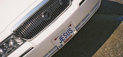 Licence Plate in Alabama: You've Got a Friend in Jesus