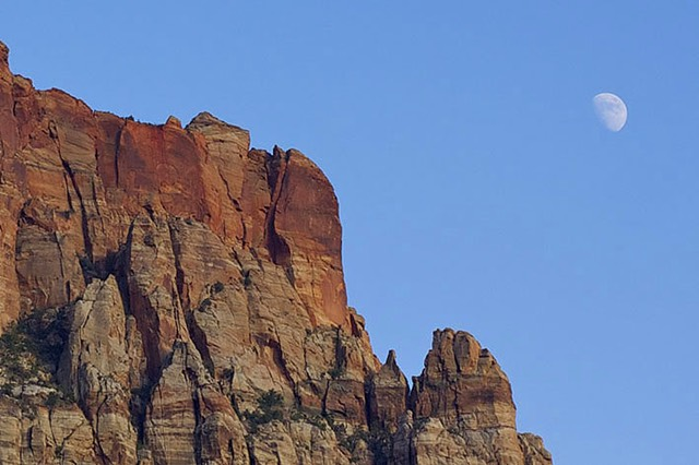 Zion, Moon From Bit and Spur