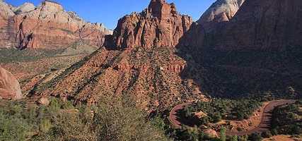 Zion-Mount Carmel Highway, West Side